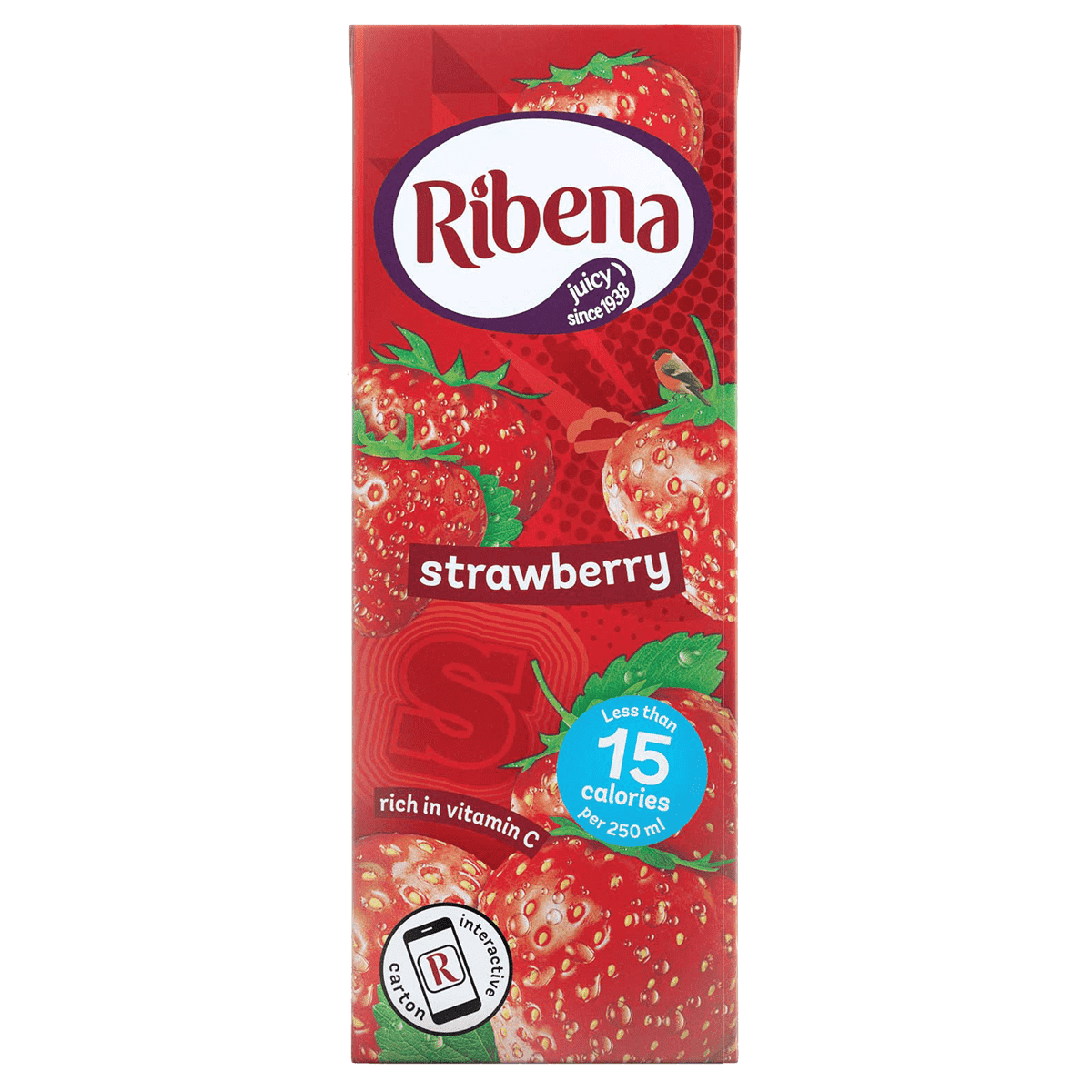 ribena stawberry carton multipack