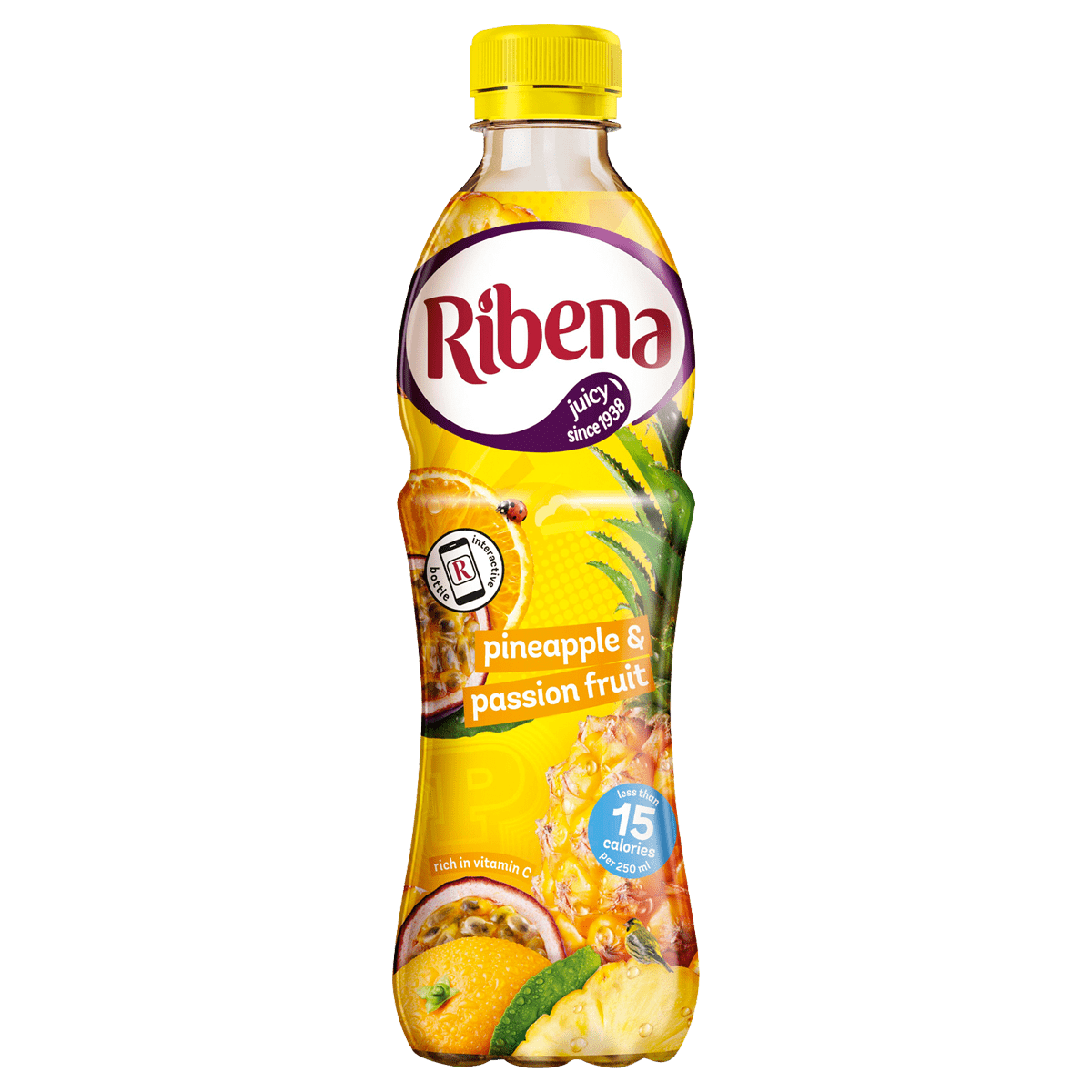 ribena light - pineapple & passion fruit